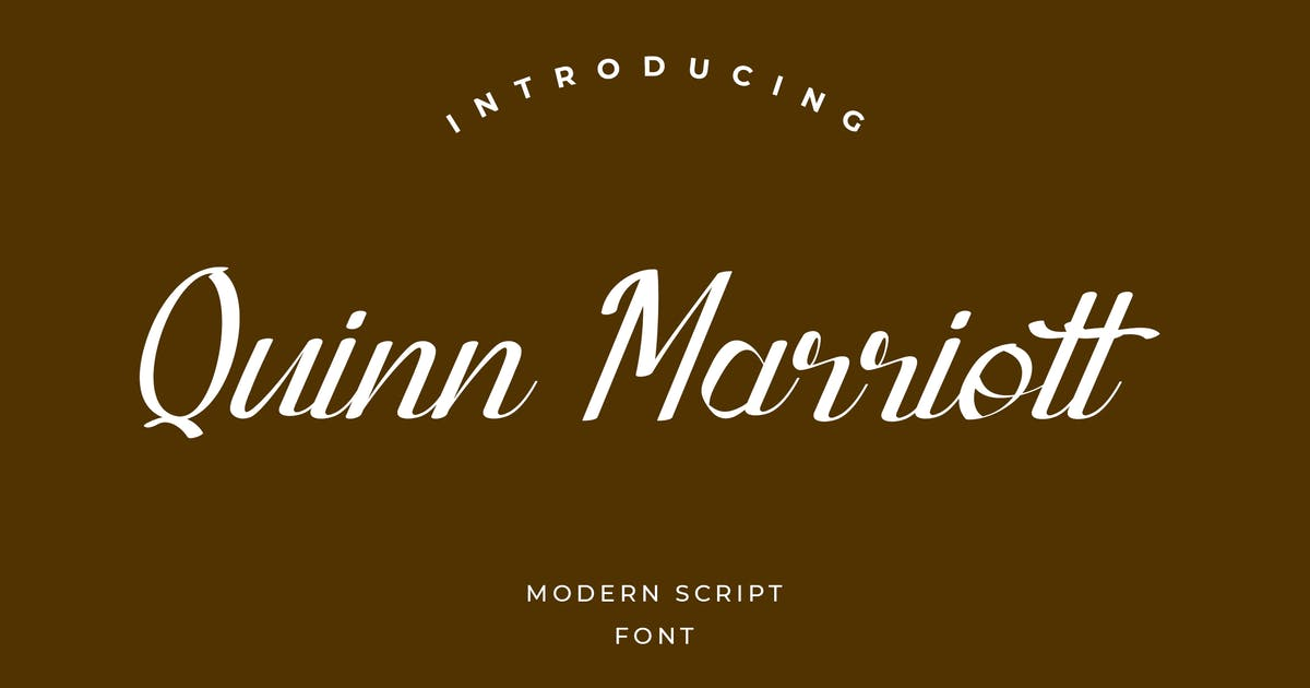Download Quinn Marriott Signature Font by uicreativenet