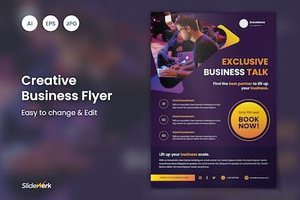 Creative Business Event Flyer 52 - Slidewerk