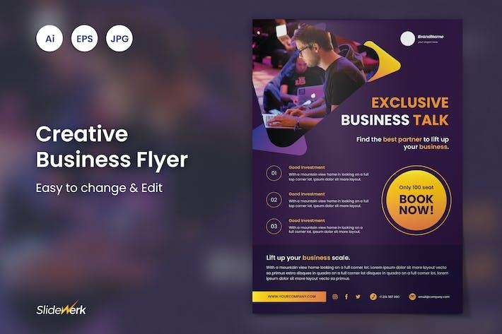 Thumbnail for Creative Business Event Flyer 52 - Slidewerk