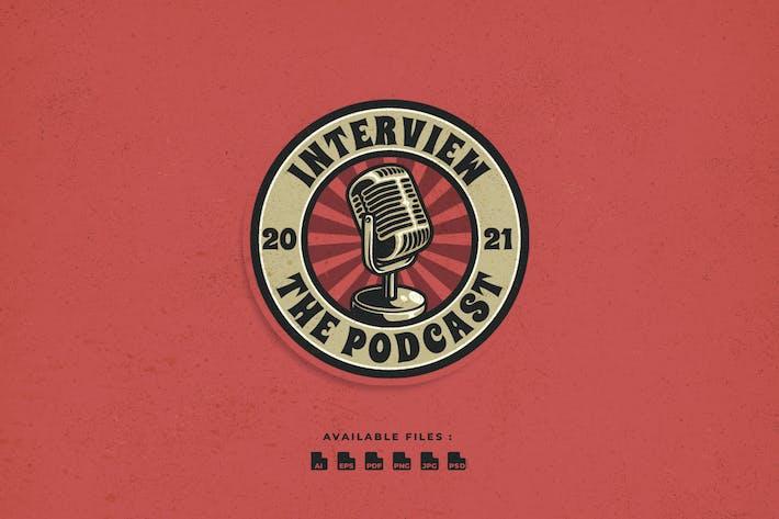 Podcast Badge Logo