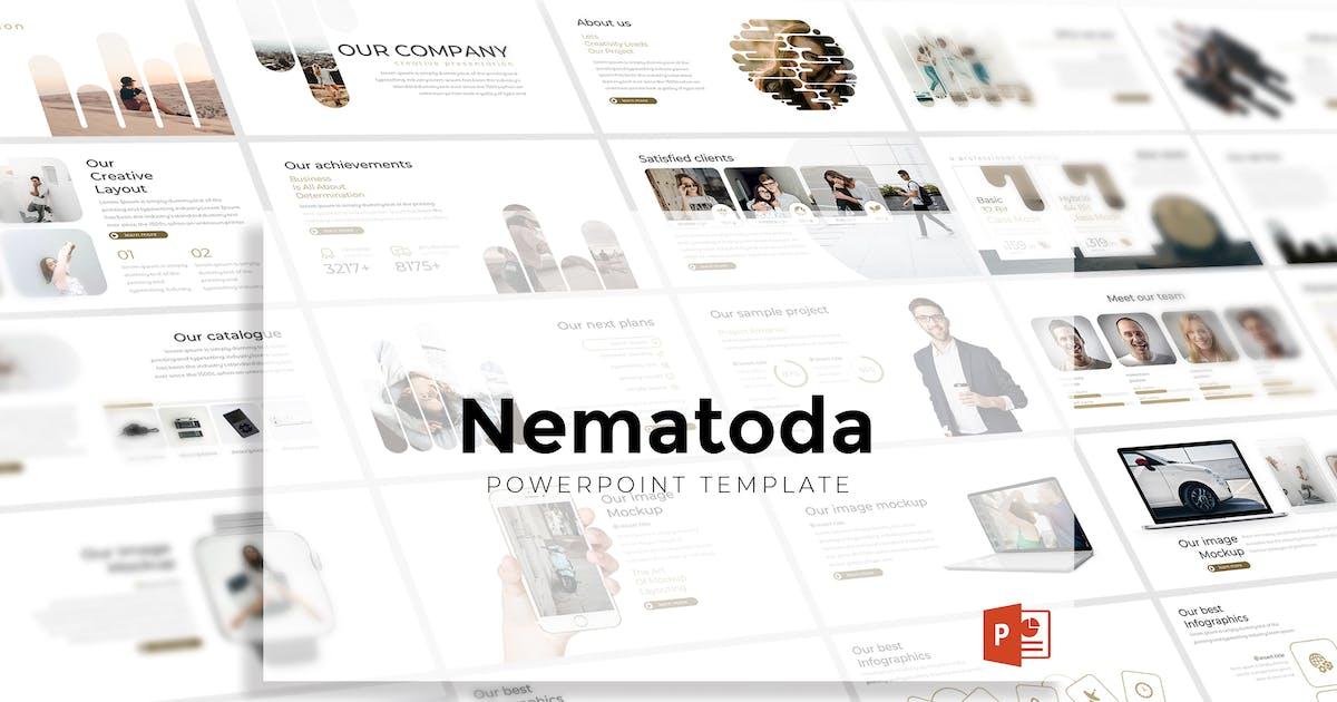 Download Nematoda - Powerpoint Template by aqrstudio