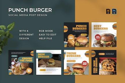Punch Burger | Instagram-Beitrag