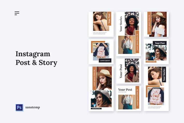 Thumbnail for Sanstemp - Instagram Promotion
