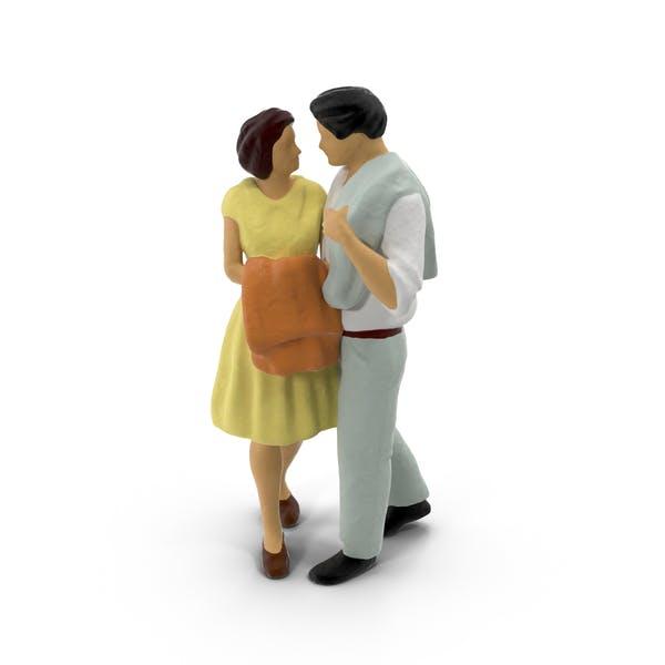 Miniature Toy Couple