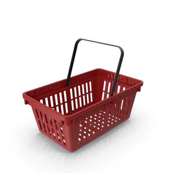 Thumbnail for Red Plastic Basket