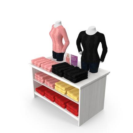 Womens Sweater Display