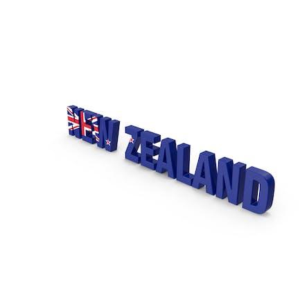 New Zealand Text