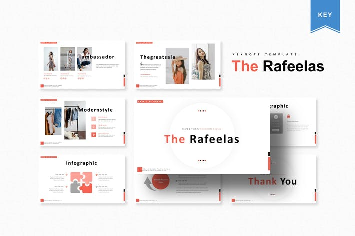 Thumbnail for The Rafeelas | Keynote Template
