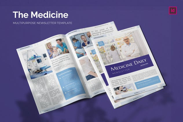 Medicine Company - Newsletter Template