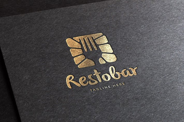Thumbnail for Restobar Logo Template