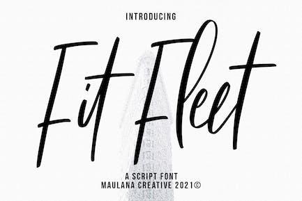 Fit Fleet Script Font