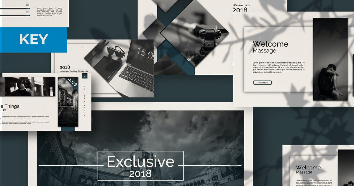 Download Exclusive Keynote Template by templatehere