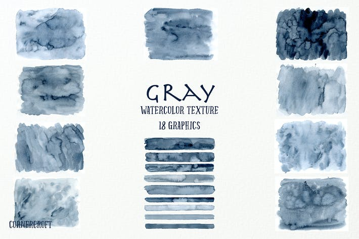 Thumbnail for Watercolor Texture Gray