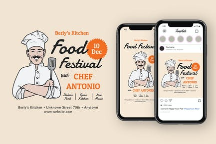 Food Festival Instagram Post