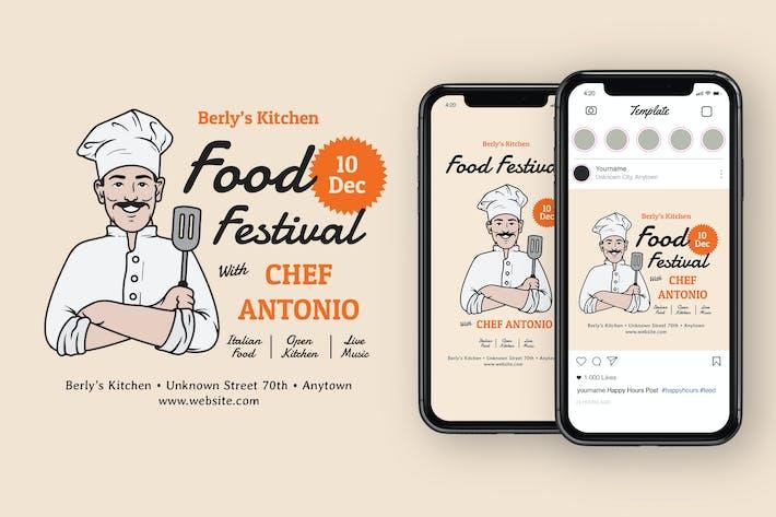 Thumbnail for Food Festival Instagram Post