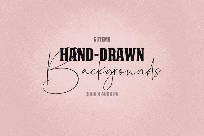 Thumbnail for Fondos dibujados a mano neutros