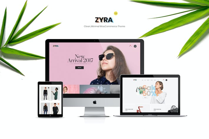 Thumbnail for Zyra — Sauber, Minimal WooCommerce Thema