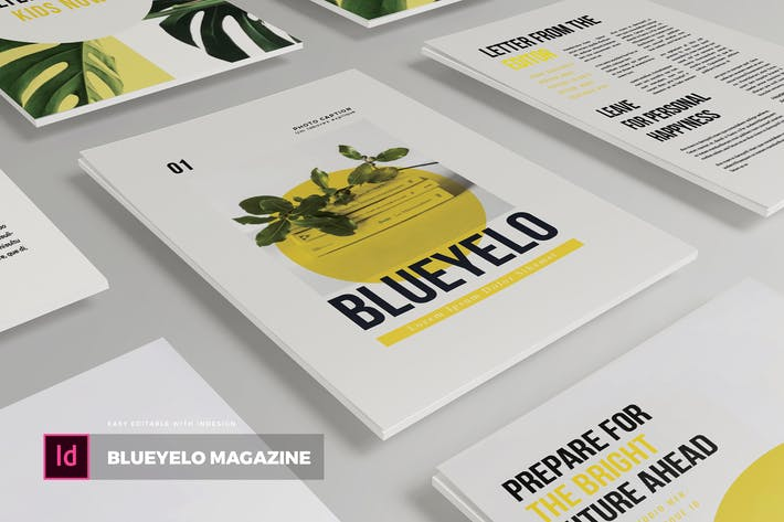 Thumbnail for Blueyelo | Magazine