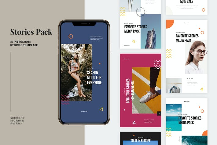 Instagram Stories Pack