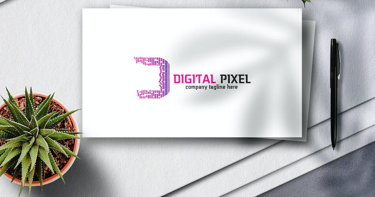 Download Digital Pixel Logo by Voltury
