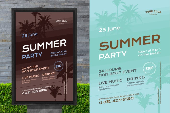 Thumbnail for Summer Poster Template