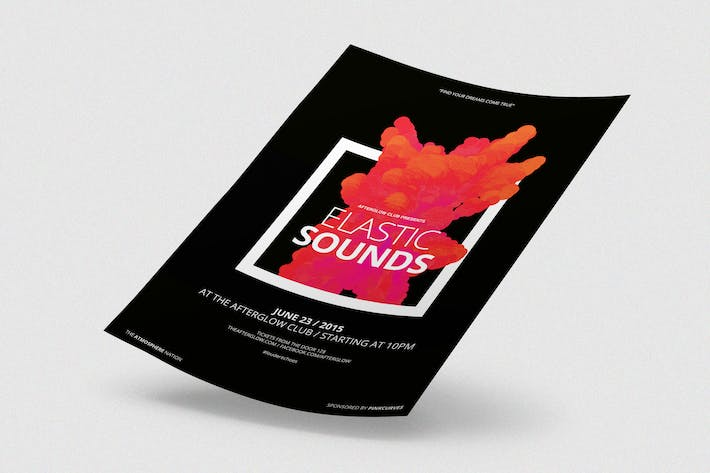 Thumbnail for Elastic Sounds Flyer / Poster