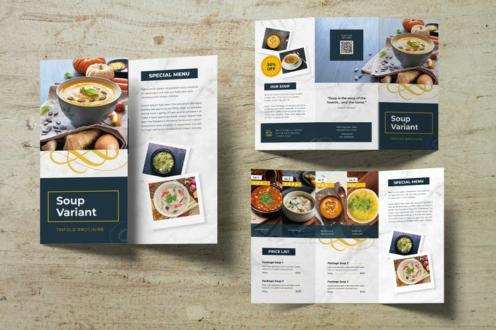 Thumbnail for Cooking Recipe Trifold Brochure