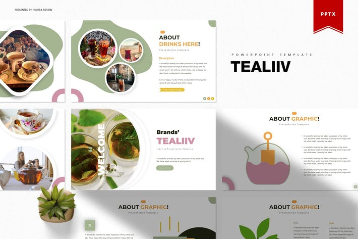 Thumbnail for Tealiiv | Powerpoint Template