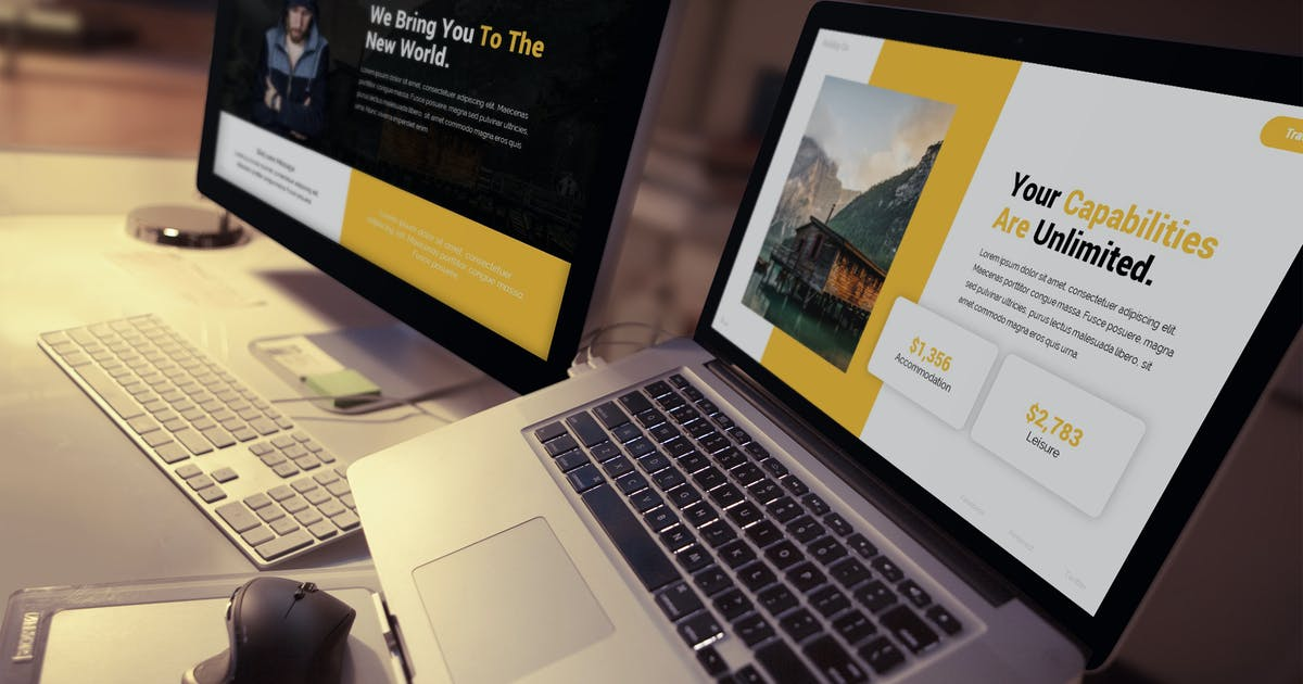 Download Discover - Advertising Keynote Template by SlideFactory
