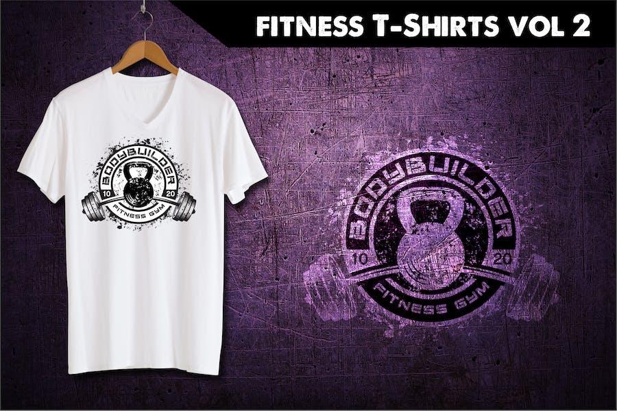 Fitness T-Shirt Template 1
