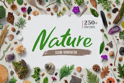 Générateur de scène nature