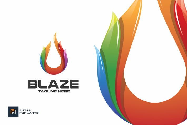 Thumbnail for Blaze / Fire - Logo Template