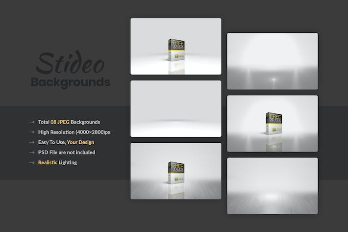 Thumbnail for Studio And Spot Light Backgrounds