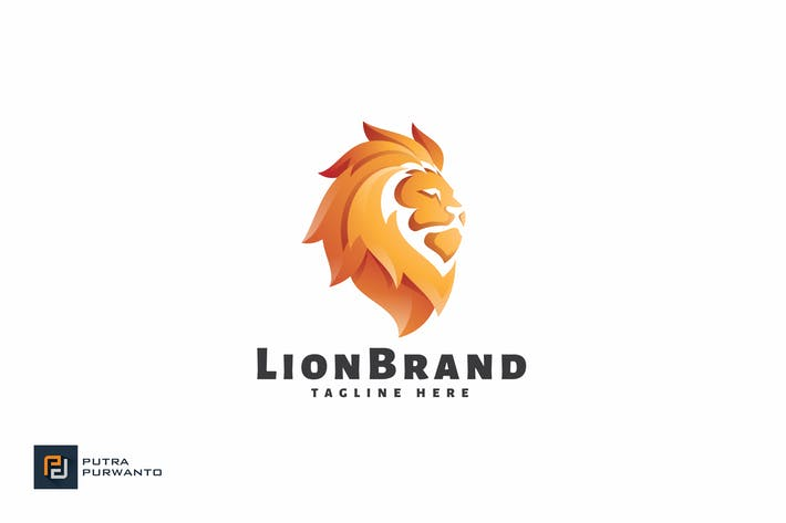 Thumbnail for Lion Brand - Logo Template