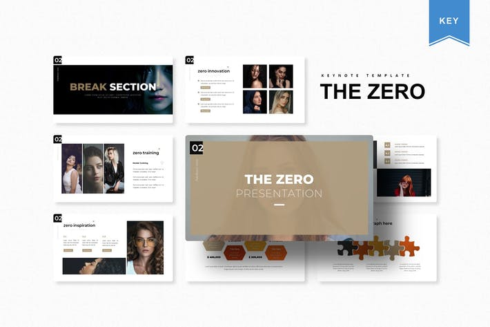 Thumbnail for The Zero | Keynote Template