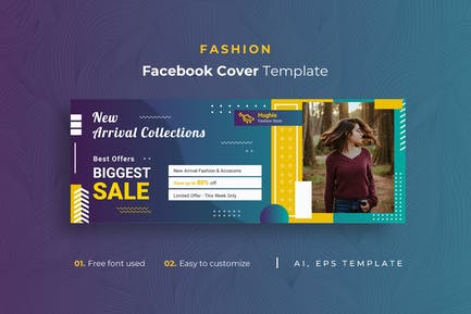 Fashion r1 Facebook Cover Template