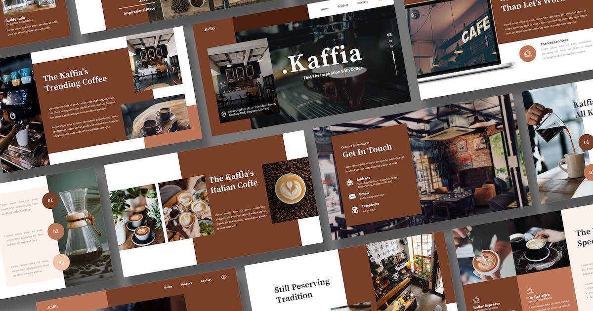 Download Kaffia - Coffee Powerpoint Template by kerismaker