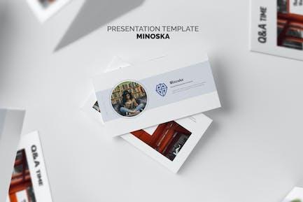 Minoska : School, College & Education Powerpoint