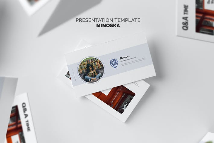 Thumbnail for Minoska : School, College & Education Powerpoint