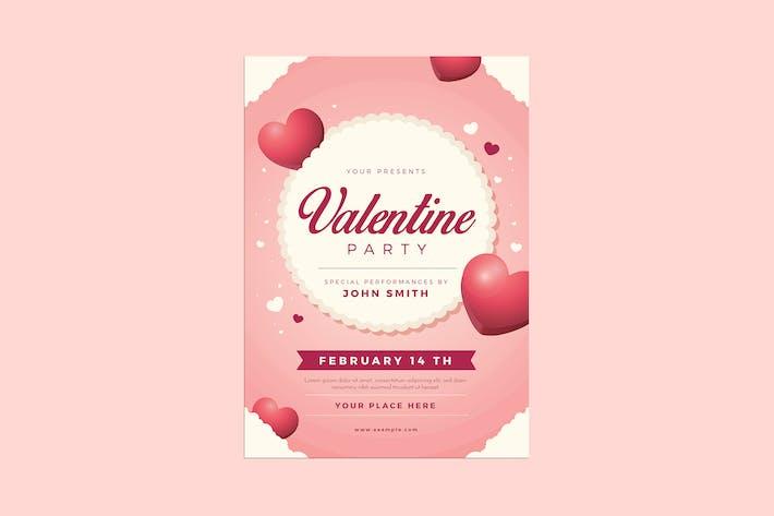 Thumbnail for Valentine Event Flyer