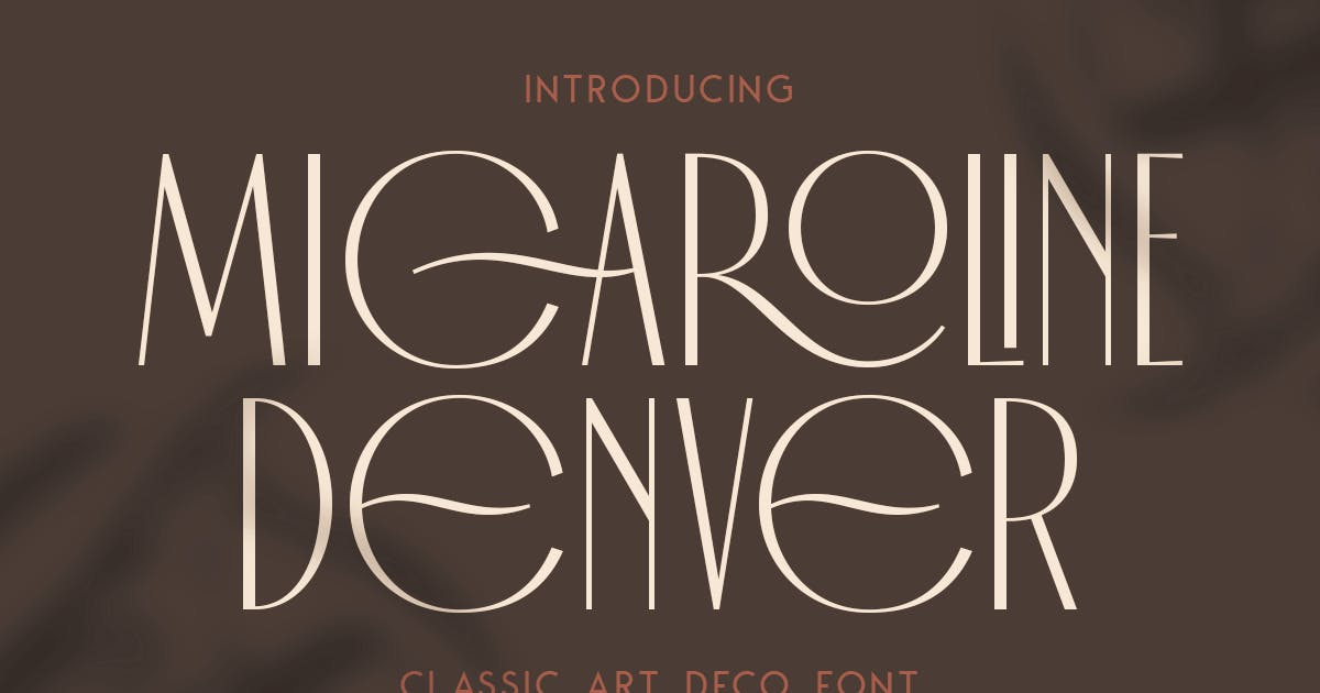Download Micaroline Classic Typeface by MartypeCo