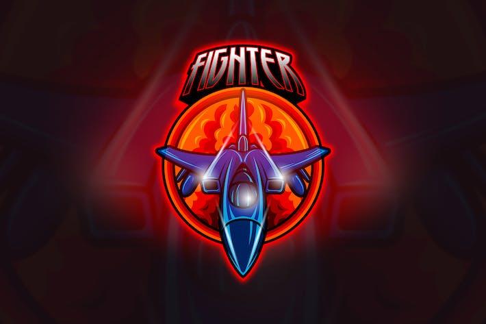 Thumbnail for Jet Fighter - Mascot & Esport Logo