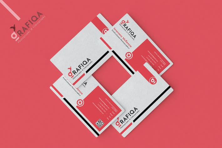 Thumbnail for Photographer Business Card Template