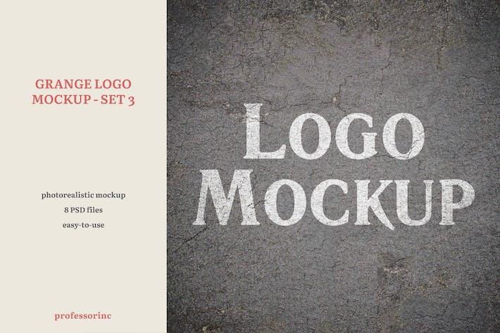 Grange Logo Mockup - Set 3