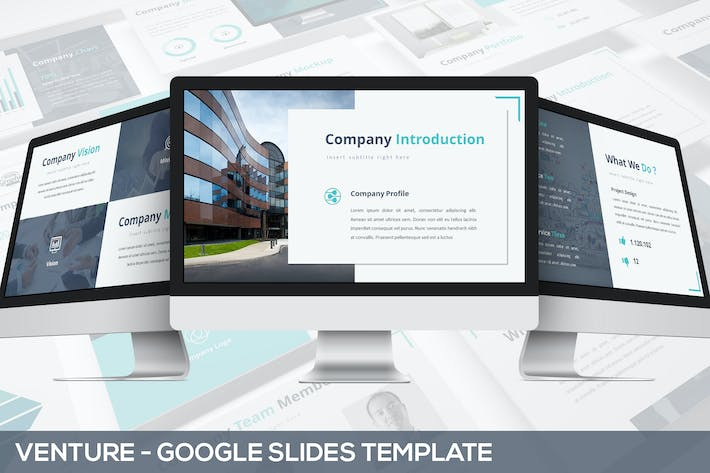 Thumbnail for Venture - Google Slides Presentation Template