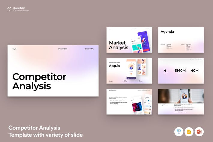Thumbnail for Competitor Analysis template