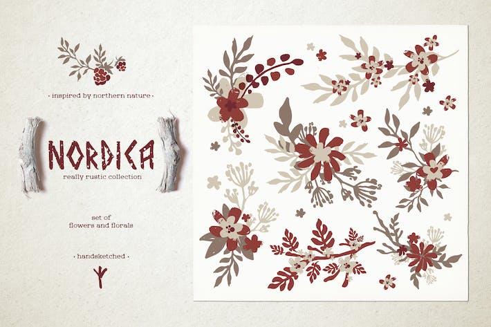 Thumbnail for Nordica // Набор цветов и цветов #2