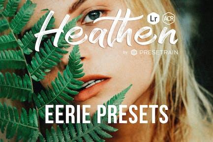 Heathen Eerie Presets for Lightroom & Photoshop