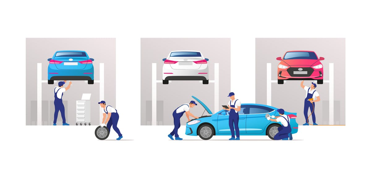 Download Car Service and Repair by Faber14
