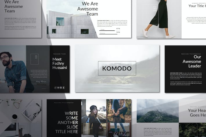 Thumbnail for Komodo | Keynote Templates